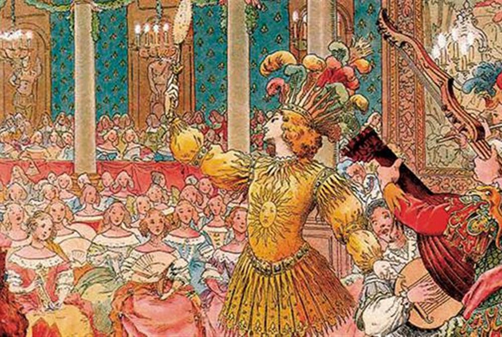 Louis XIV Sun King ballet