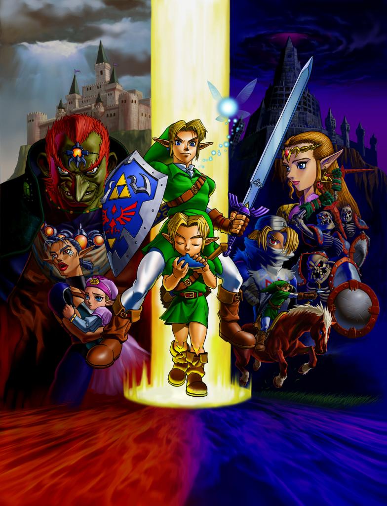 The Legend of Zelda: Ocarina of Time best game ever