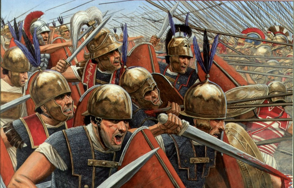Roman legion Second Punic War