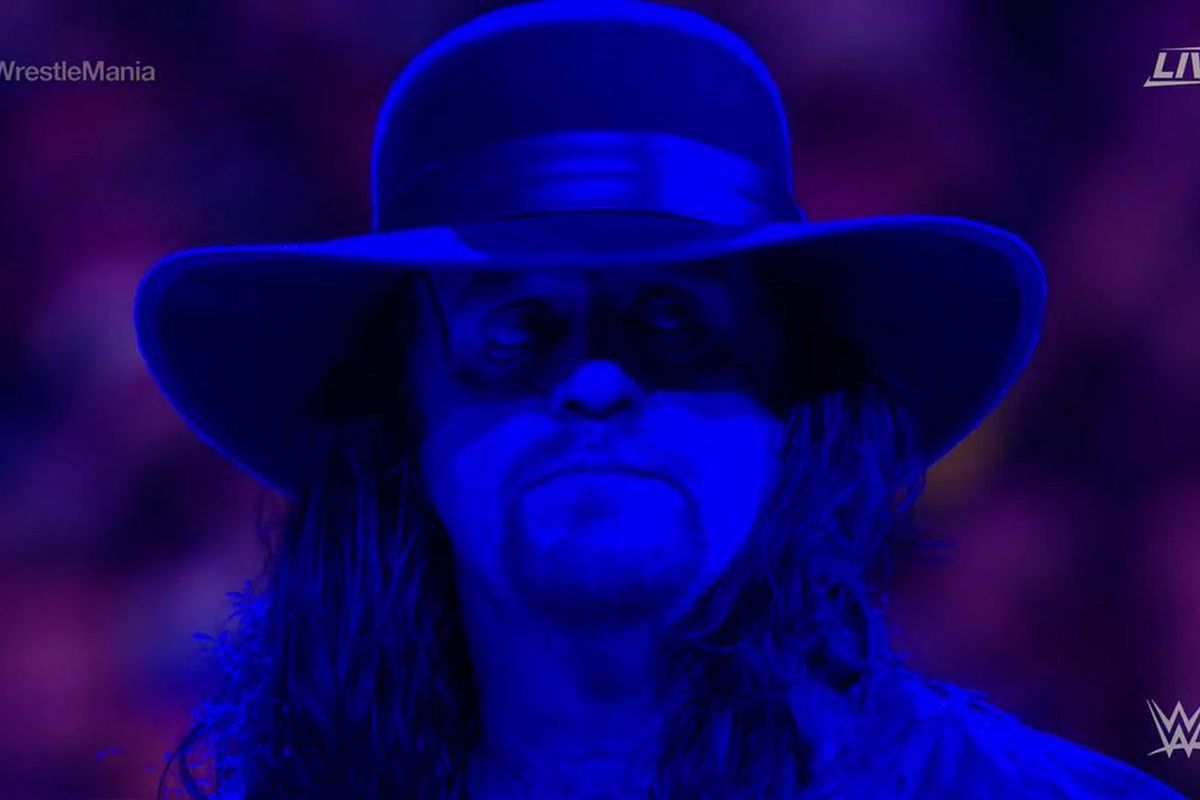 Undertaker retired