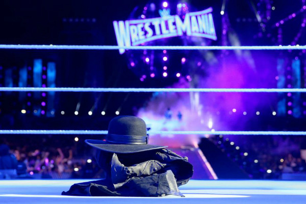 Undertaker retired at WrestleMania33