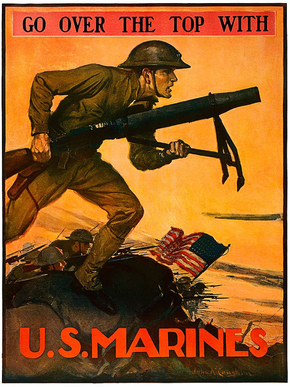 US entry into WW1