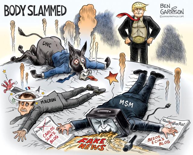 Trump vs Fake News