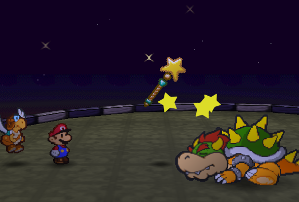 Paper Mario Ending