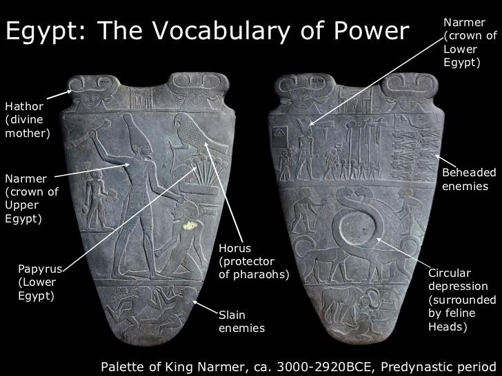 King Narmer Palette