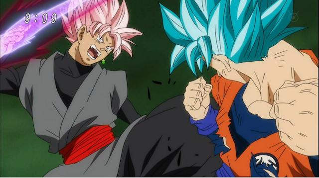Goku vs. Goku Black