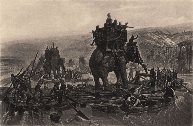 Hannibal Barca elephants
