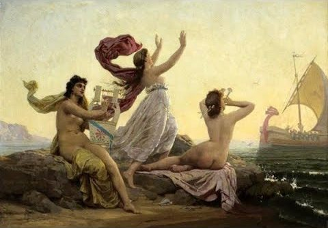 Orpheus and the Sirens