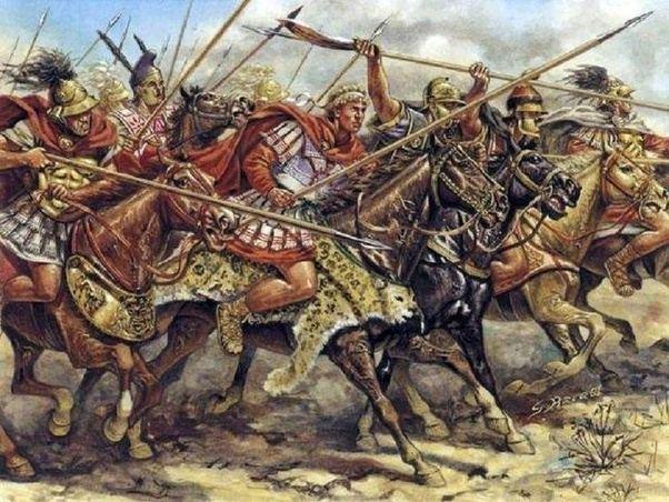 Alexander the Great Companion cavalry