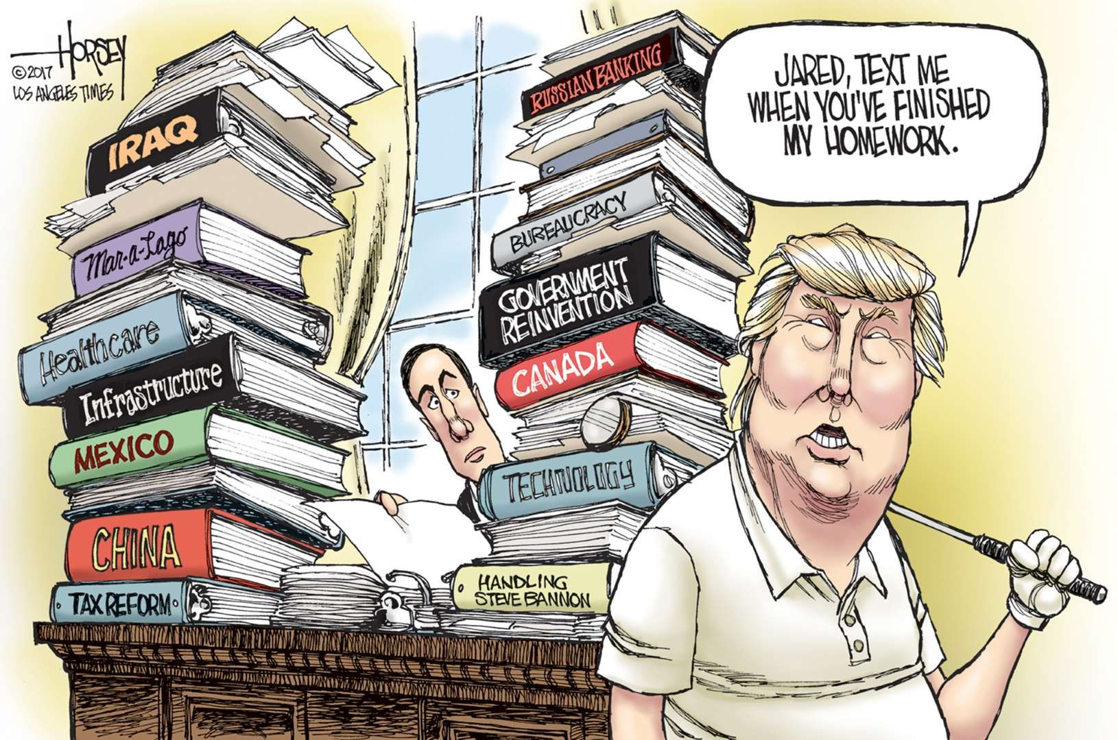 Donald Trump controlled by Jared Kushner