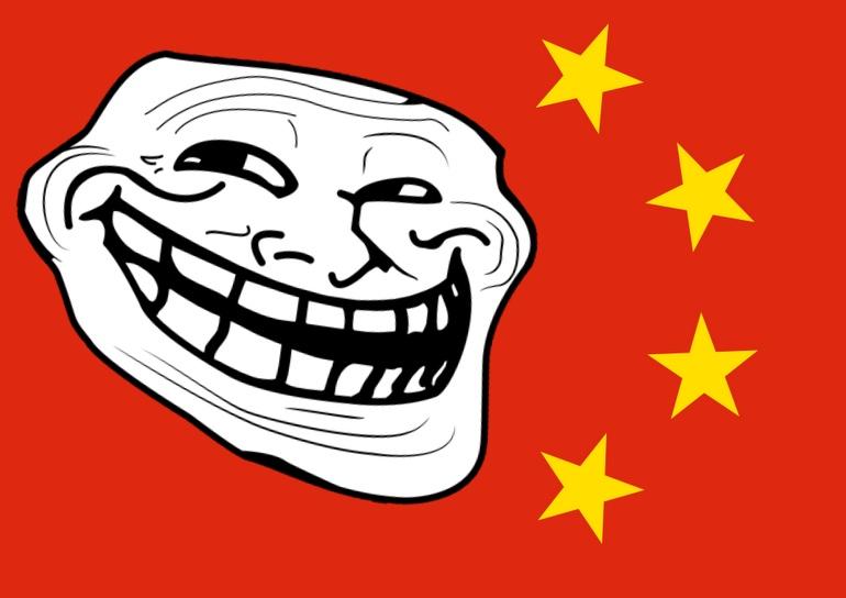 Chinese coronavirus trolls