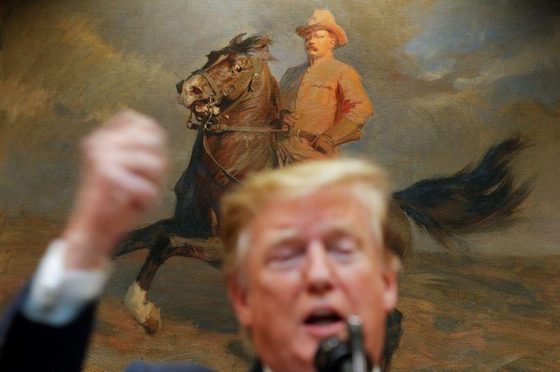Donald Trump Theodore Roosevelt