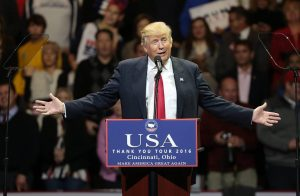 Donald Trump victory tour Ohio