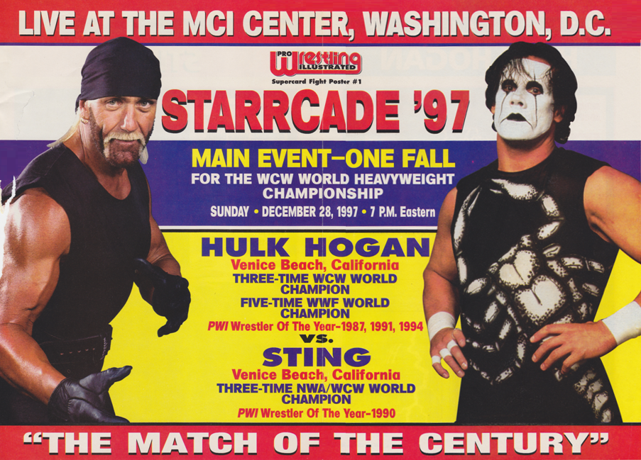 Hogan vs. Sting Starrcade 1997