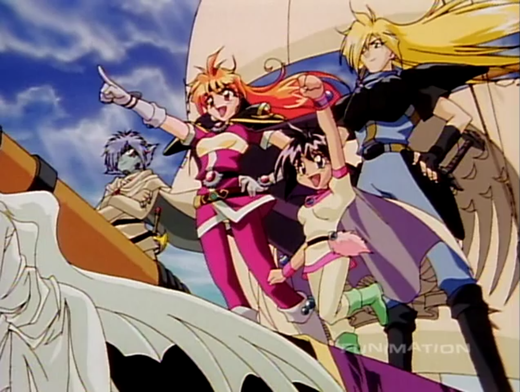 Slayers TRY cast