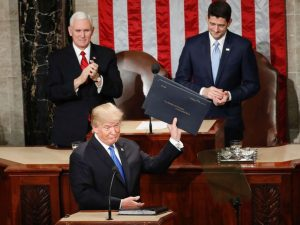 Donald Trump first State of the Union