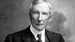 John D. Rockefeller Money