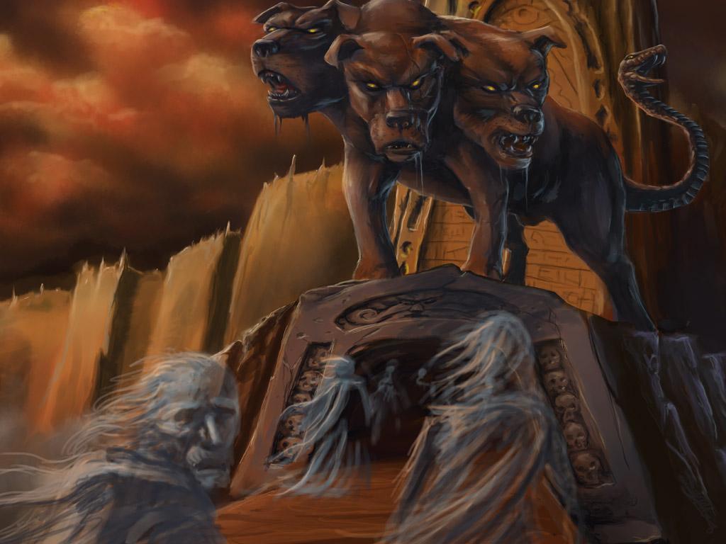 Cerberus and Hades