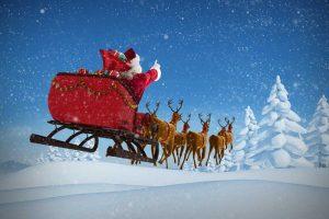 Santa Sleigh Christmas worries