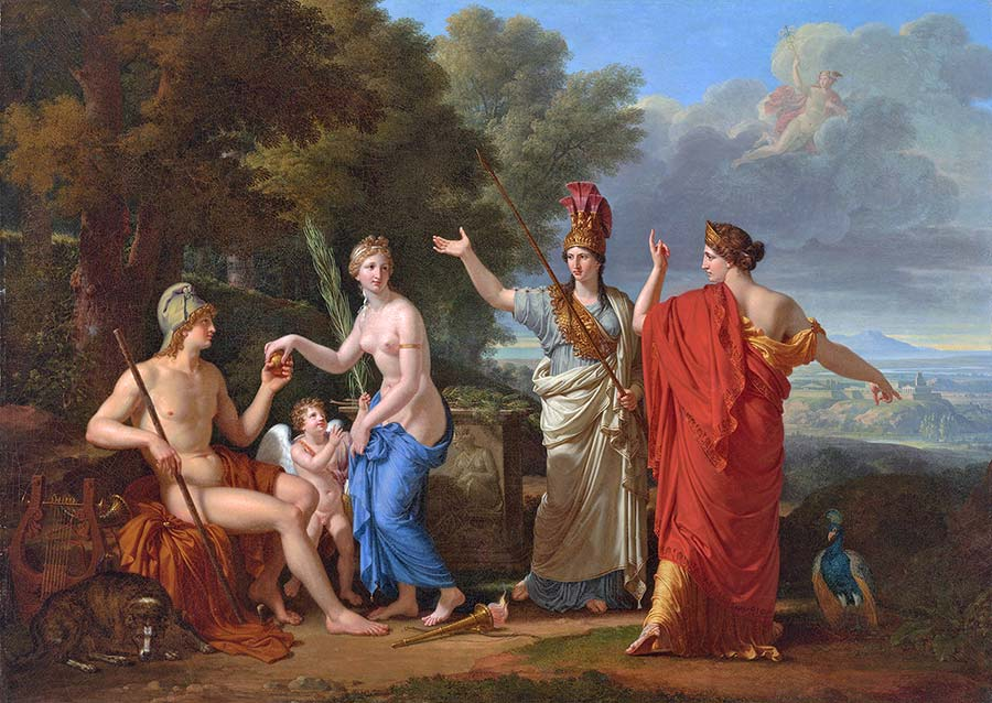 Judgment of Paris Myth