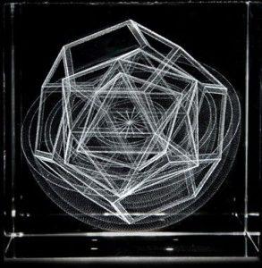 Johannes Kepler's crystal spheres