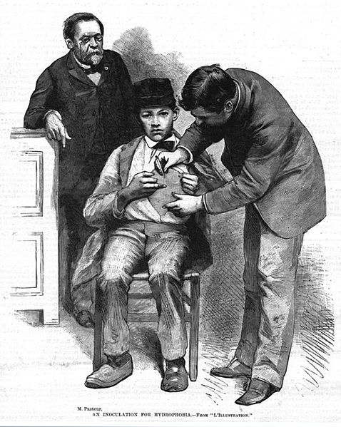 Louis Pasteur Rabies vaccine