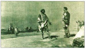 Scipio and Hannibal meet