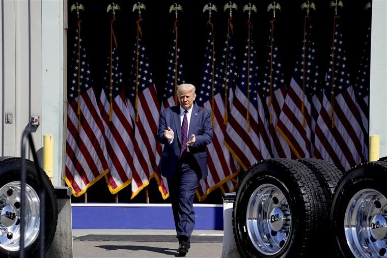 Donald Trump RNC acceptance speech 2020