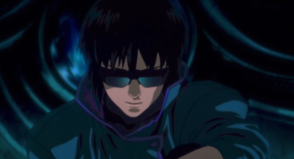 Motoko Kusanagi Ghost in the Shell 1995 movie