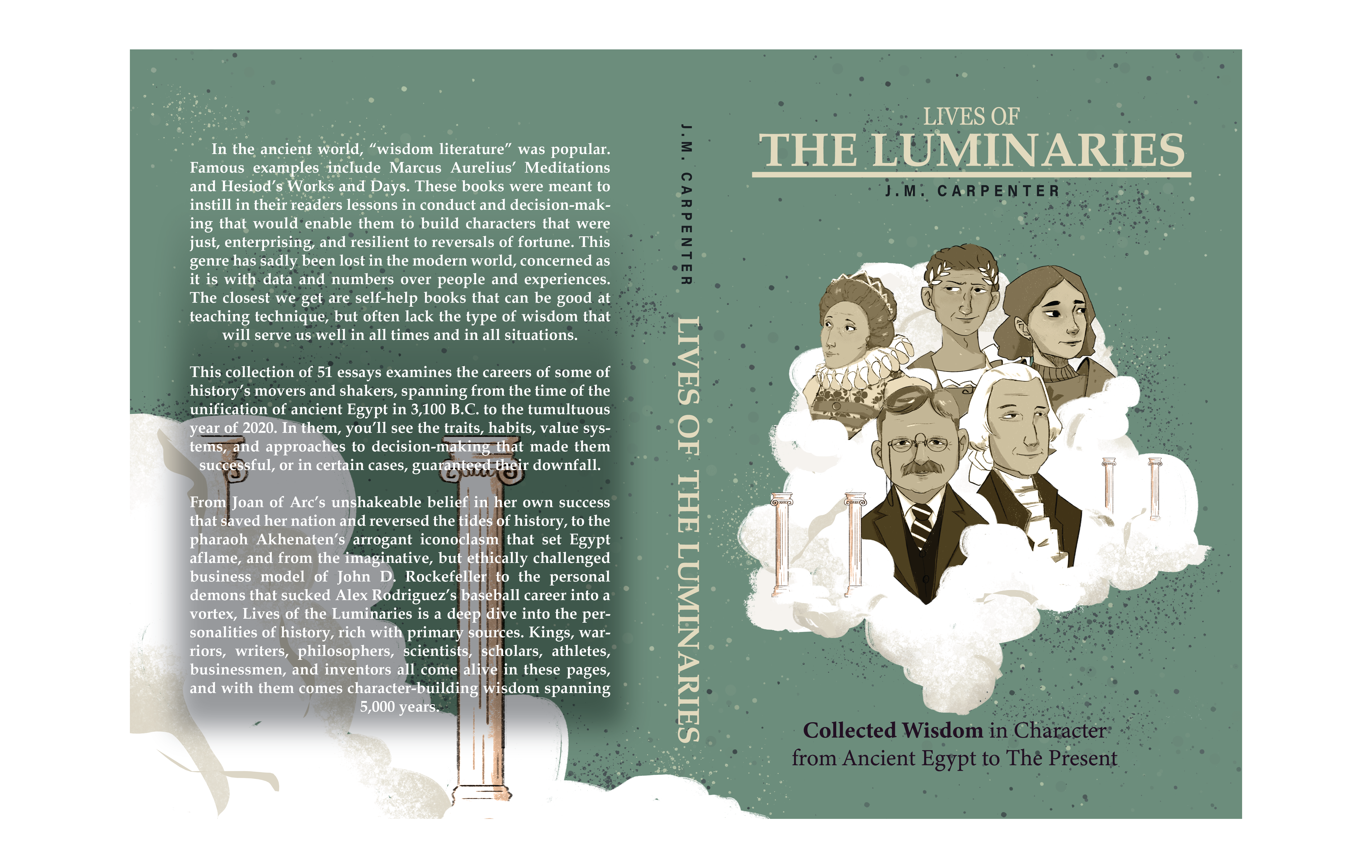Lives of the Luminaries cover