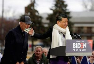 Joe Biden China Puppet Xi
