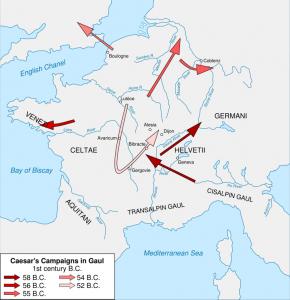 Gallic Wars Map