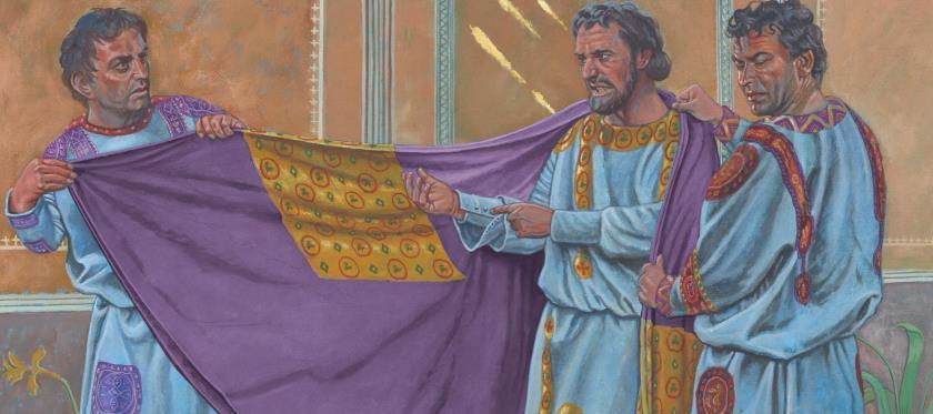 Justinian Steals Silk