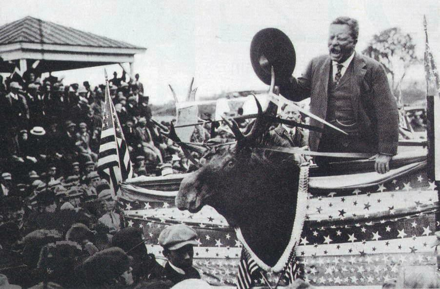 Theodore Roosevelt 1912 Bull Moose Campaign