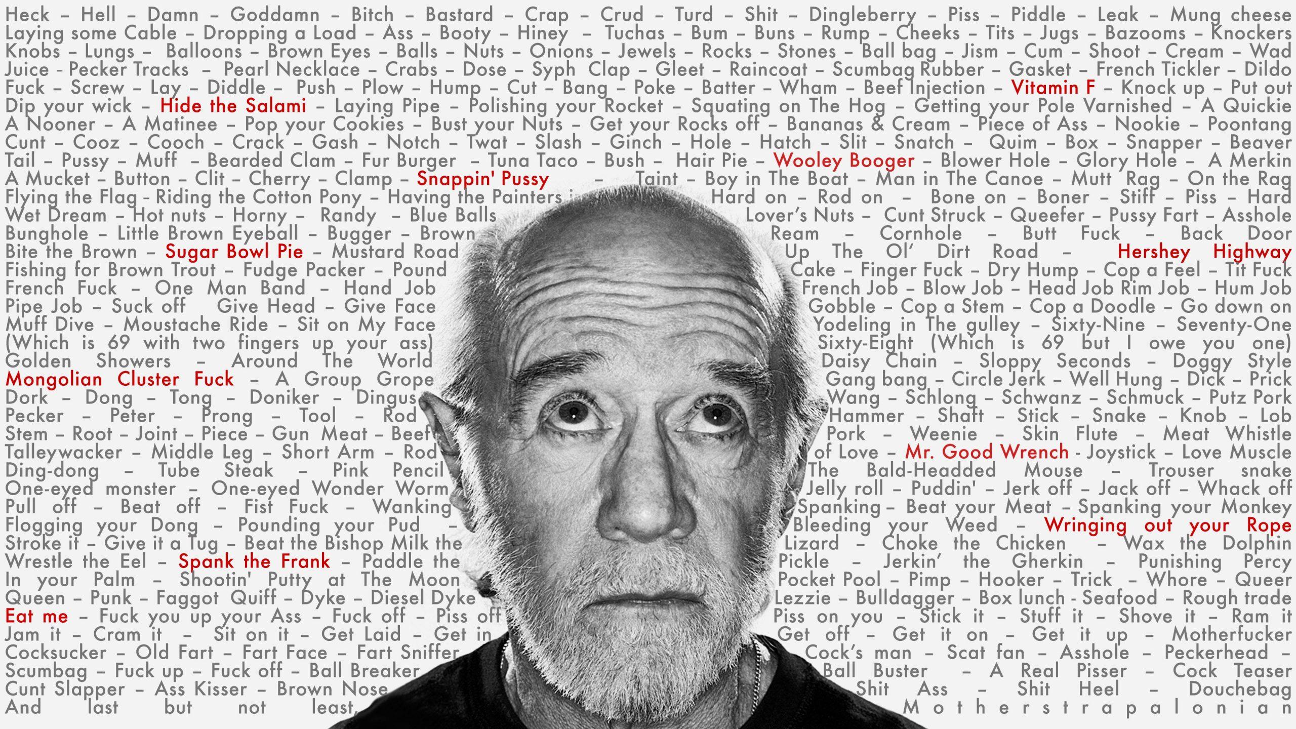 George Carlin Write Everything Down