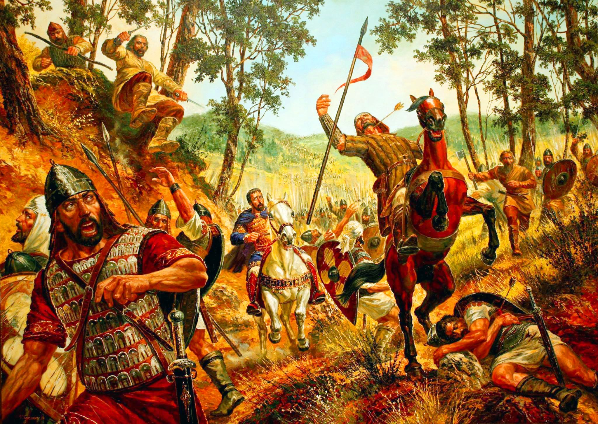 Worst Byzantine Defeats